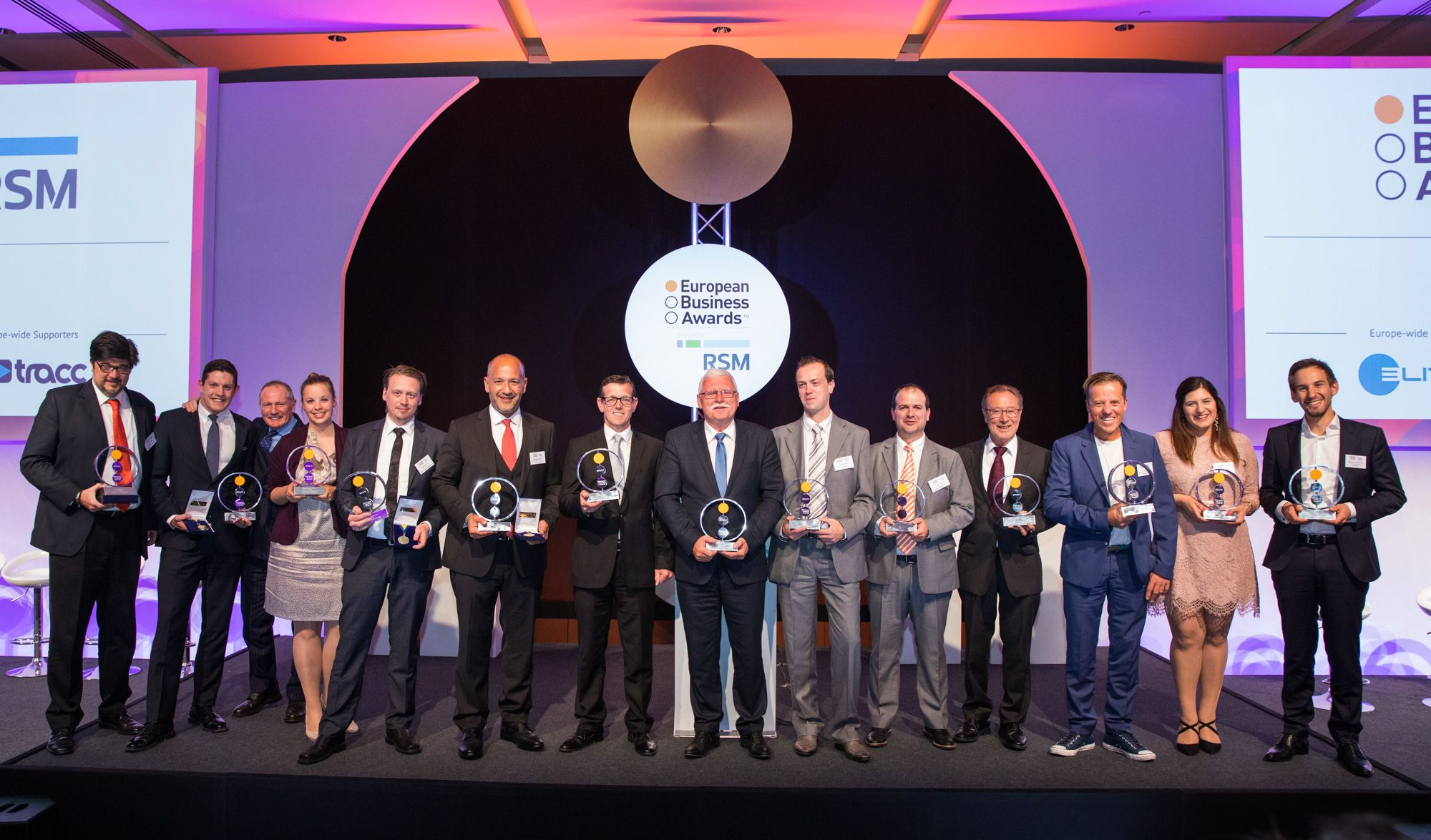 Actiu Group, Marine Instruments and Leroy Merlin España triumph in the Eurpean Business Awards 2017
