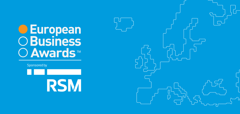 Europe's business elite honoured by the European Business Awards, sponsored by RSM