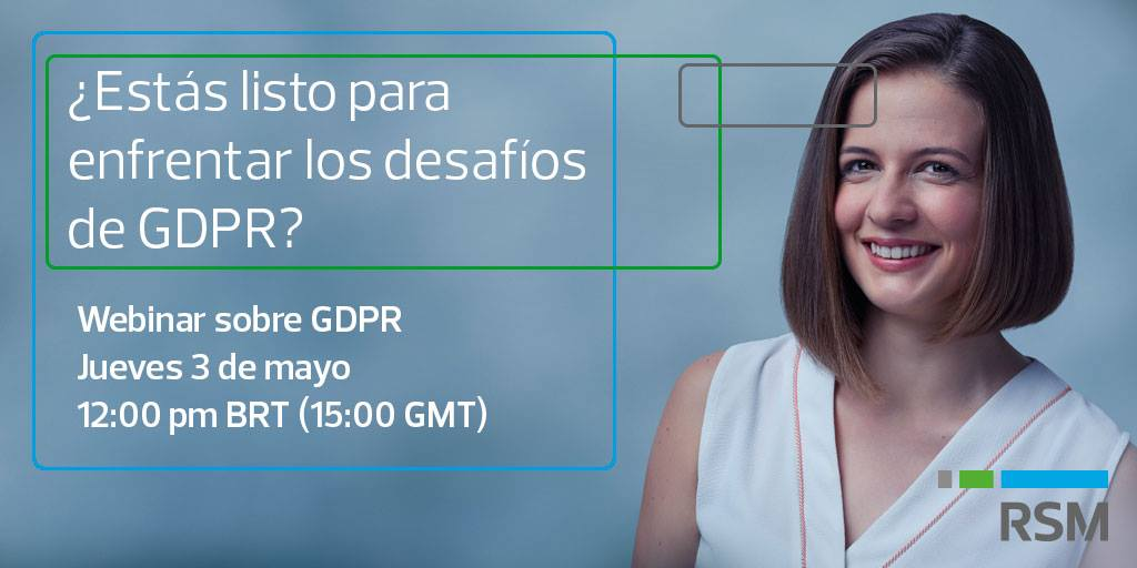 GDPR webinar: a roadmap to help deliver compliance