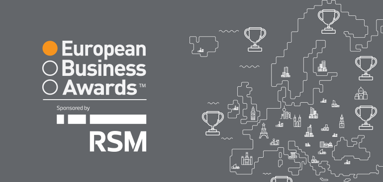 Public to Decide Europe's Best in European Business Awards Sponsored By RSM