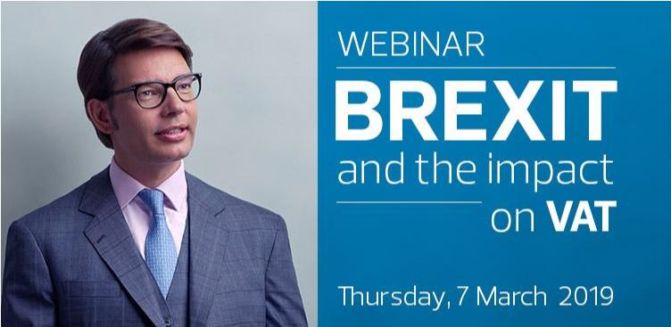 Webinar: Brexit and the impact on VAT