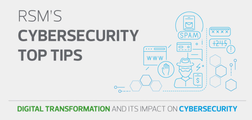RSM's Cibersecurity top tips