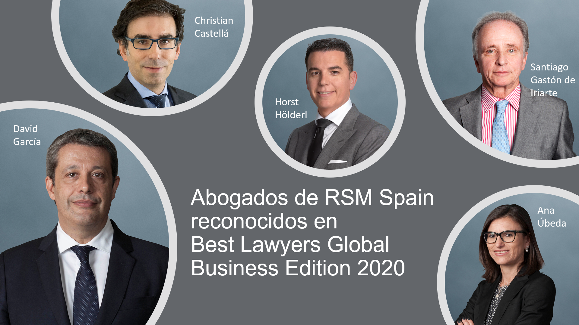 Best Lawyers Global Business Edition distingue a RSM Spain